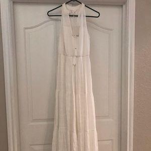 """Lauren Conrad"" White Maxi Dress"